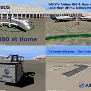Toulouse Blagnac - The Airbus Home Pack v1.1