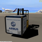 UCGO Cargo Airbus Global Express Delivery Parts - Screen Capture