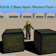 UCGO & UMmu Space Marines Pack v1.0