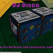 UCGO Cargo DJ Disco