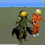 Soon available for free download (on my website): Space Marines Pack for Orbiter SFS 2010 (Programming in progress)