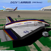 DGIV Airbus repaint (Old livery)