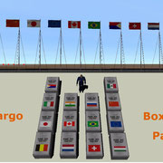 UCGO Cargo Flags Pack1