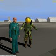 UMmu Co-Pilot-Navigator character