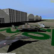 Orange Caritat French Air Force AB 115 - Squadron La Fayette
