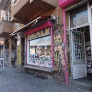 petit commerce non loin de l'East-Side-Gallery