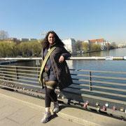 remarquer les cadenas au pont Oberbaum (Liebeschlösser)