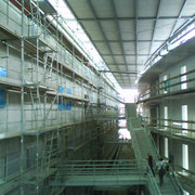 Akustikputzarbeiten im Biomedizinischen Zentrum in Bonn