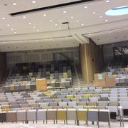 Producten, akoestiek, akoestische plafondsystemen Sto; Universität Wur Orion Wageningen (Niederlande)