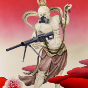 国武装:P50 (1167×803)  (水彩・日本画材) 2013年
