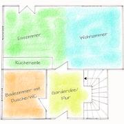 Grundriss Wohnung OstenUG