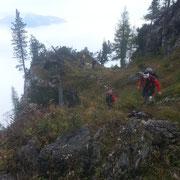 Ausstieg Seewand