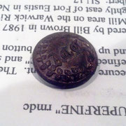 Alabama Corps of Cadets button found by Greg Rollins