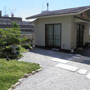 9F庭園&お茶室