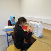 Werkraum für Textiles Werken