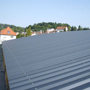 Dacheindeckung Stahltrapezblech, Albstadt-Onstmettingen