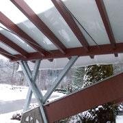 Carport, Stahl- und Holzbaukonstruktion, Albstadt-Onstmettingen