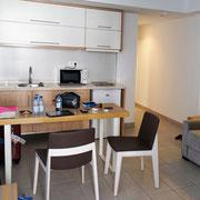 Küche, Wohnen