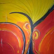 Acryl auf Leinwand   100 cm x 100 cm ............