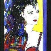 Acryl auf Leinwand   100 cm x 120 cm ............