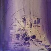 Acryl auf Leinwand   60 cm x 60 cm ............