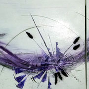 Acryl auf Leinwand   150 cm x 100 cm ............