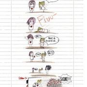 Sakura hasst Sasuke...? Kleiner Comic, is i-wie unlogisch.
