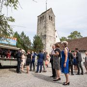 Hochzeitsapéro Kirche Bremgarten