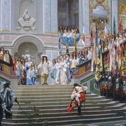 Réception du Grand Condé par Louis XIV (1878)