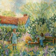 EIN SOMMERTAG   100x160 cm     verkauft