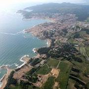Les meravelloses cales de Sant Martí d'Empúries i el poble de l'Escala