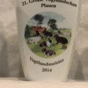 .... um diesen Pokal dreht sich alles, der Vogtlandmeister