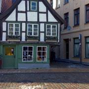 das älteste Fachwerkhaus erbaut anno 1698
