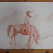 Guerrier à cheval