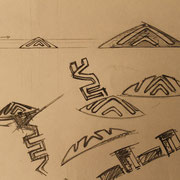 Design Sheet - Jewellery inspired by Brazilian Colonial Architecture