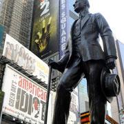 Ideenwettbewerb um den besten Slogan am Times Square.