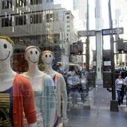 Auf der 5th Avenue. Menschen in der Manege des Lebens.