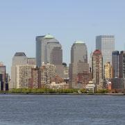 ... macht sich Manhattan fürs Postkartenmotiv schön.