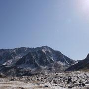 2011年10月_室堂から立山を眺める