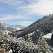 Ausblick nach Saalbach
