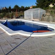 Mantenimiento de piscinas en Hondon de los frailes