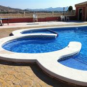 Construcción de spas en Alcayna