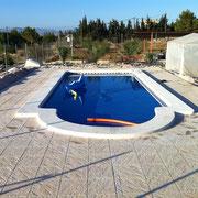 Mantenimiento de piscinas en Albatera