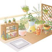 日経BPムック「おうちで野菜作り」