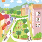 日経インテレッセ 2012_5月号紫外線特集イラスト