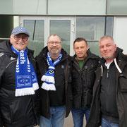 Hajo, Udo, Ivica Olic` und Michael