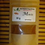 Macis, Muskatnussblütengewürz im Gudwork, 4 euro