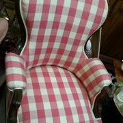 fauteuil ancien en acajou