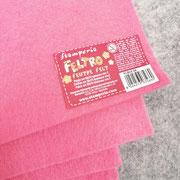 Feltro morbido rosa