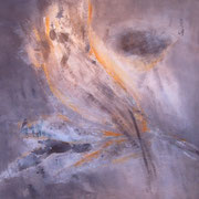 Blumenfantasie    Acryl auf Leinwand  100 x 100  CHF 800